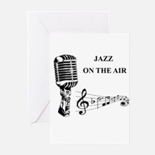 Jazz on the air! Greeting Cards (Pk of 10)