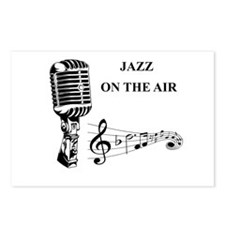 Jazz on the air! Postcards (Package of 8)