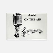 Jazz on the air! Rectangle Magnet