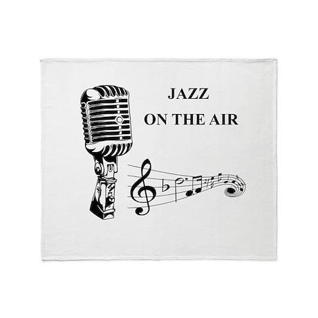Jazz on the air! Throw Blanket