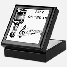 Jazz on the air! Keepsake Box
