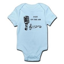 Jazz on the air! Infant Bodysuit