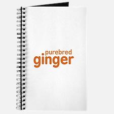 Purebred Ginger Journal