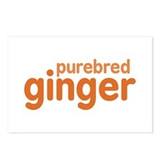 Purebred Ginger Postcards (Package of 8)