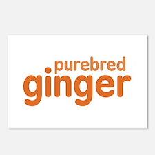 Purebred Ginger Postcards (Package of 8)