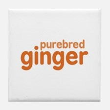 Purebred Ginger Tile Coaster