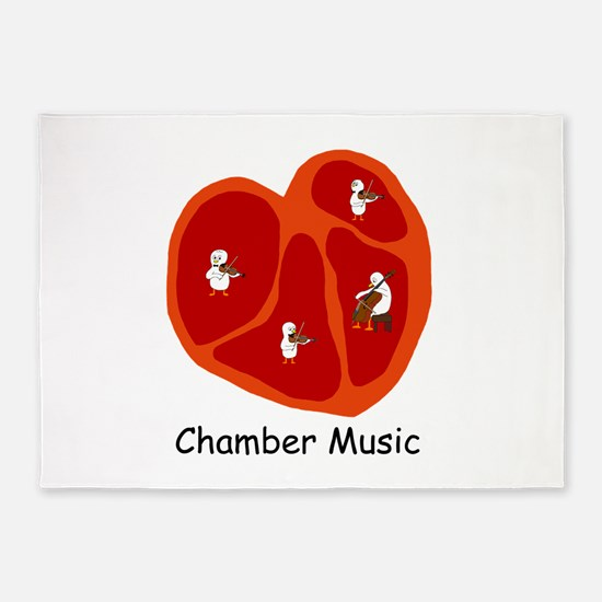 Chamber Music 5'x7'Area Rug
