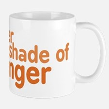 Lighter Shade of Ginger Mug