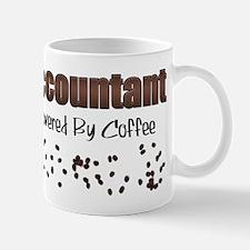 Accountant: Powered By Coffee Mug