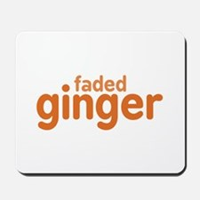 Faded Ginger Mousepad
