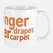 Ginger Drapes & Carpet Mug