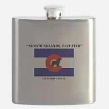 Colorado flag Newf Flask