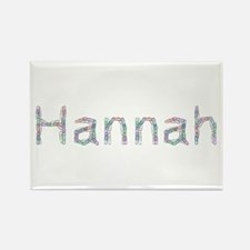 Hannah Paper Clips Rectangle Magnet