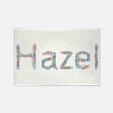 Hazel Paper Clips Rectangle Magnet