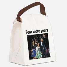 Four More Years: Obama 2012 Canvas Lunch Bag