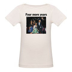 Four More Years: Obama 2012 Tee