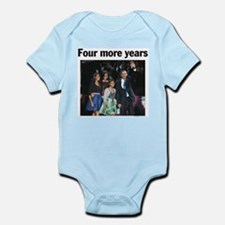 Four More Years: Obama 2012 Infant Bodysuit