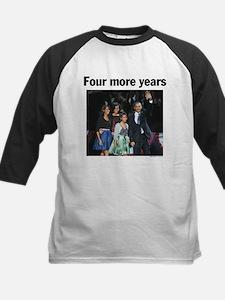Four More Years: Obama 2012 Kids Baseball Jersey