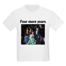 Four More Years: Obama 2012 T-Shirt