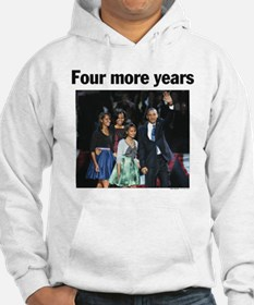 Four More Years: Obama 2012 Hoodie
