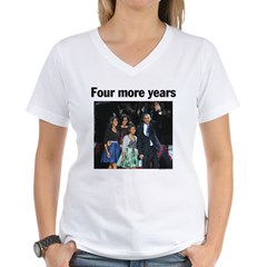 Four More Years: Obama 2012 Shirt