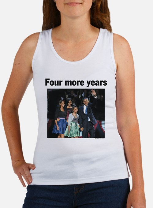 Four More Years: Obama 2012 Women's Tank Top