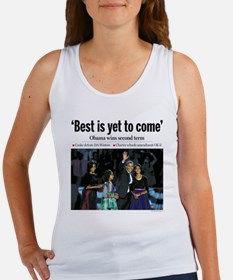 Obama: Best is Yet to Come Women's Tank Top