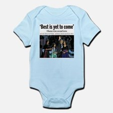 Obama: Best is Yet to Come Infant Bodysuit