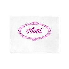 Mimi Framed 5'x7'Area Rug