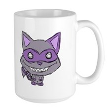 Creepy Cute Racoon Mug