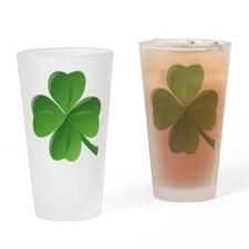four leaf clover Drinking Glass