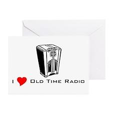 I Love OTR 3 Greeting Cards (Pk of 10)