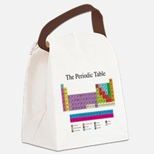 Periodic Table Canvas Lunch Bag