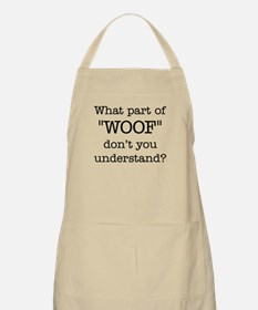 What Part of Woof Apron