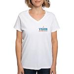 Vision Design 2 Women's V-Neck T-Shirt