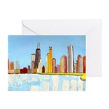 Skyline Greeting Cards (Pkge of 6)