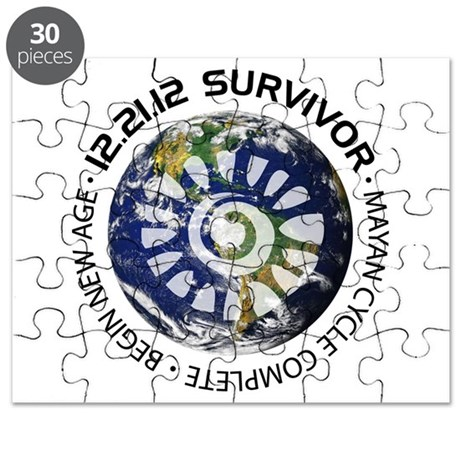 Mayan Calender End of the World 12 21 2012 Puzzle