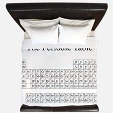 Periodic Table King Duvet