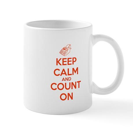 Keep Calm and Count On Mug