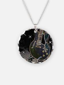 Semiglow Guitar Necklace
