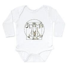 Philosophy Club Long Sleeve Infant Bodysuit
