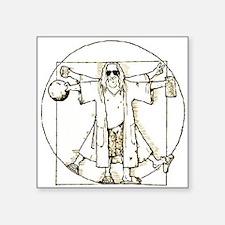 "Philosophy Club Square Sticker 3"" x 3"""