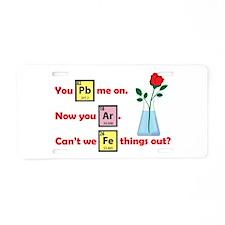 My Chemical Romance Aluminum License Plate