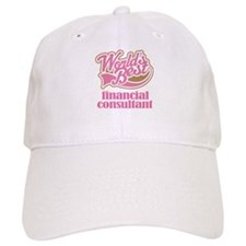 Financial Consultant (Worlds Best) Baseball Cap