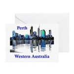 Perth, Western Australia Greeting Cards (Package o