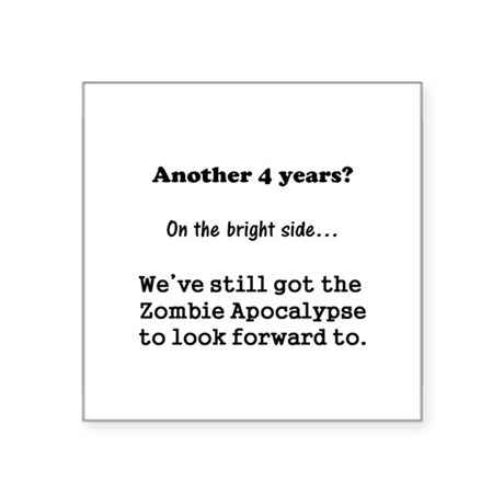 Looking forward to the Zombie Apocalypse. Square S