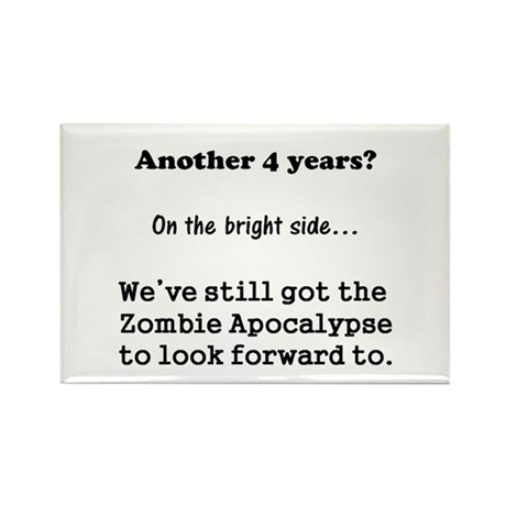 Looking forward to the Zombie Apocalypse. Rectangl