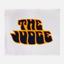 thejudge.png Throw Blanket