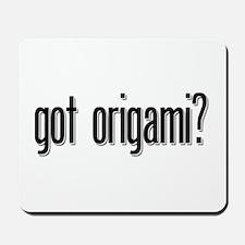 got origami? Mousepad