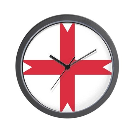 templarcrossfork.png Wall Clock